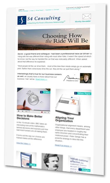 S4 Business Newsletter