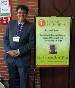 Nicholas Wolfson from S4 Consulting in Taipei, Taiwan