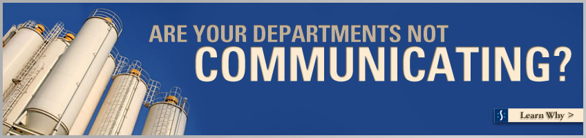 Are your departments not communicating?