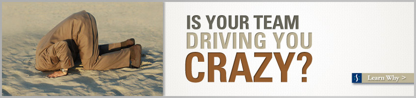 Is your TEAM driving you CRAZY?